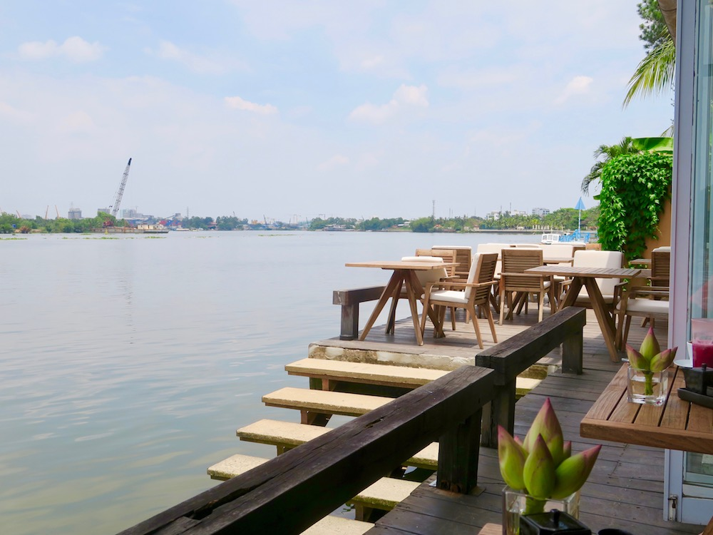 The small deck at The Deck Saigon |curlytraveller.com