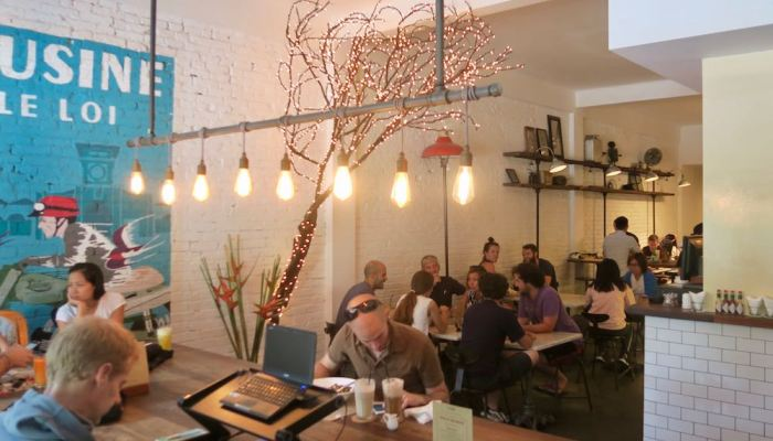 L'Usine le Loi – hipster cafeteria, bistro and shop in Saigon