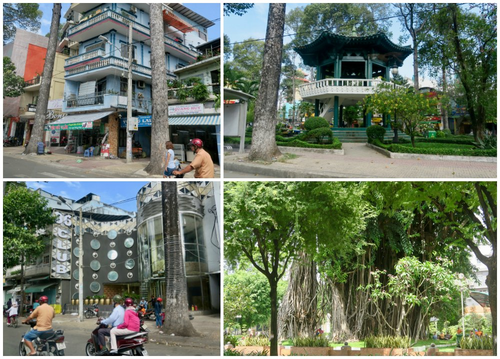 All sorts of buildings in Ho Chi minh |curlytraveller.com