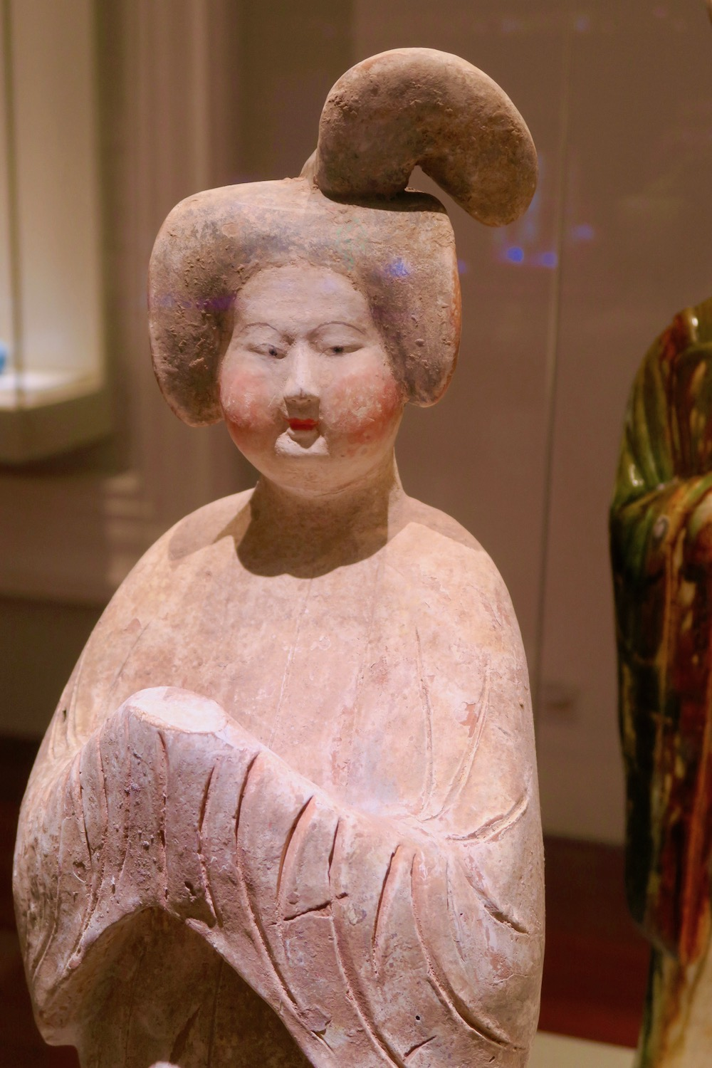 Chinese sculpture at ACM Singapore |curlytraveller.com