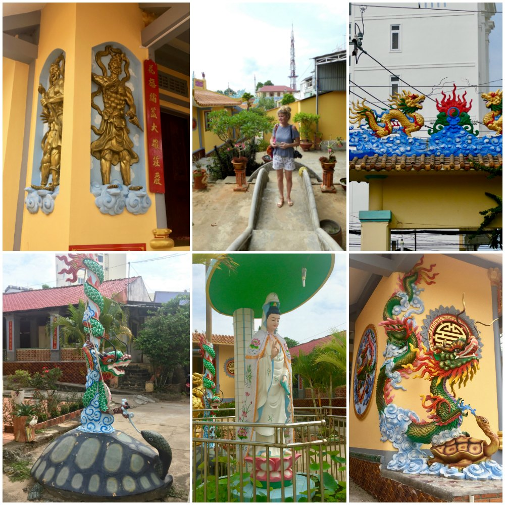 Various temples in Duong Dong town |curlytraveller.com