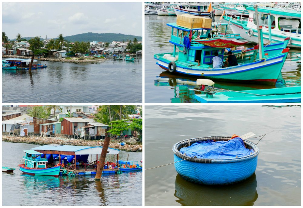 Turquoise and blue in Duong Dong port |curlytraveller.com