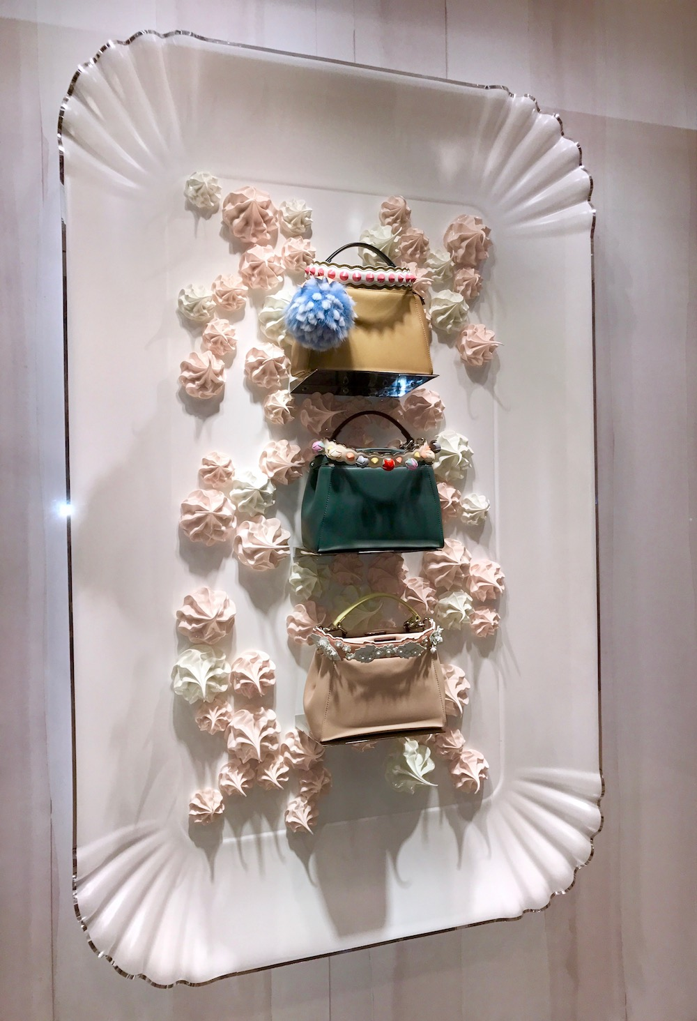 Fendi bags in shop window Orchard Singapore |curlytraveller.com