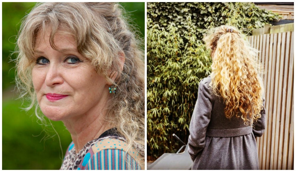 60plus woman with long curly hair |curlytraveller.com