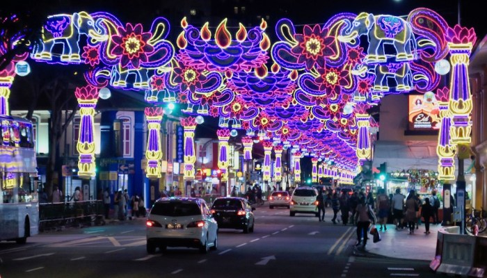 It's Deepavali in Little India