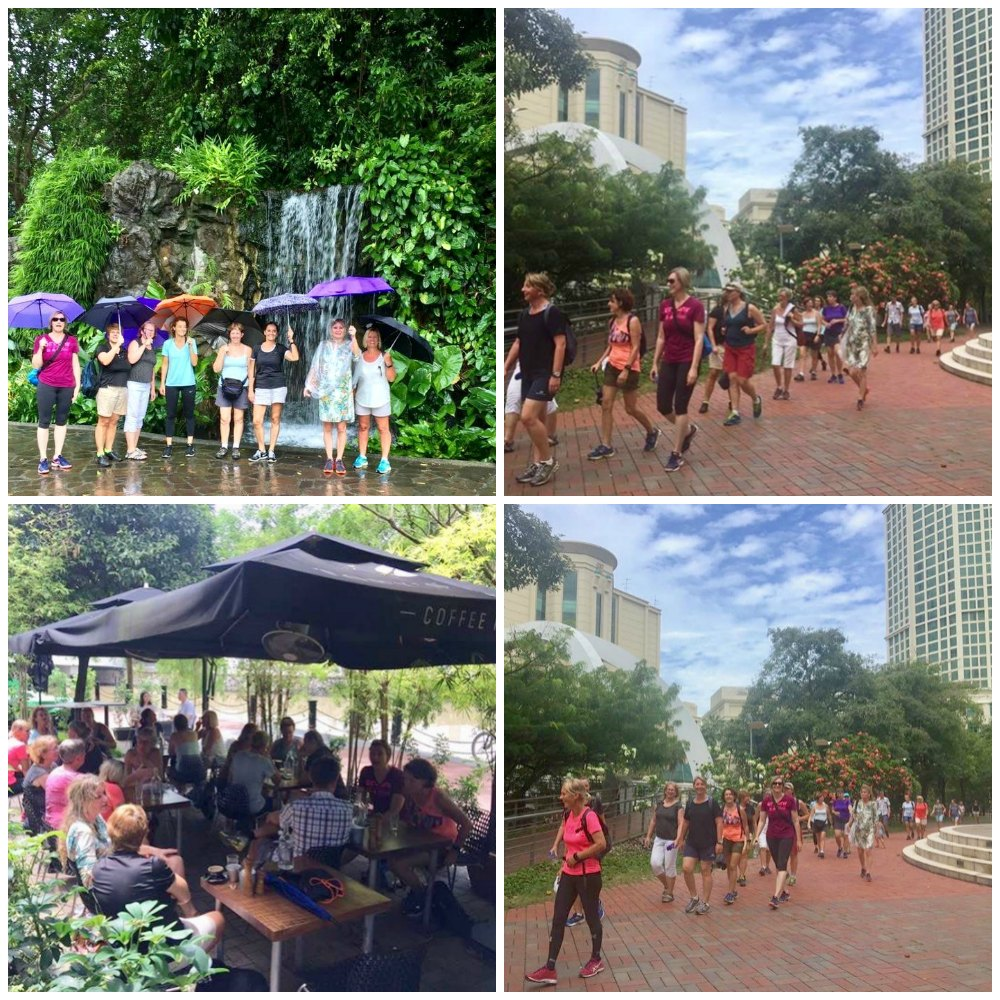 Dutch women walking in Singapore |curlytraveller.com