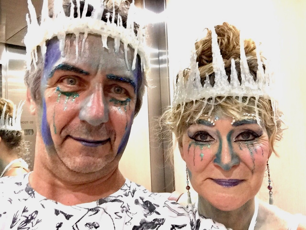 Ice King and Ice Queen for Halloween |curlytraveller.com
