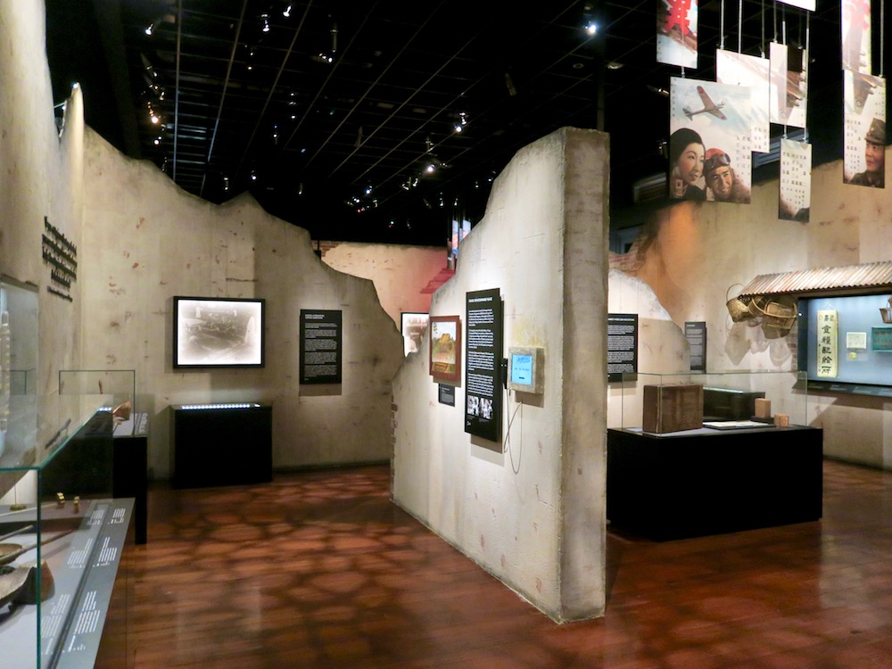 Exhibition about the Japanese occupation of Singapore |curlytraveller.com