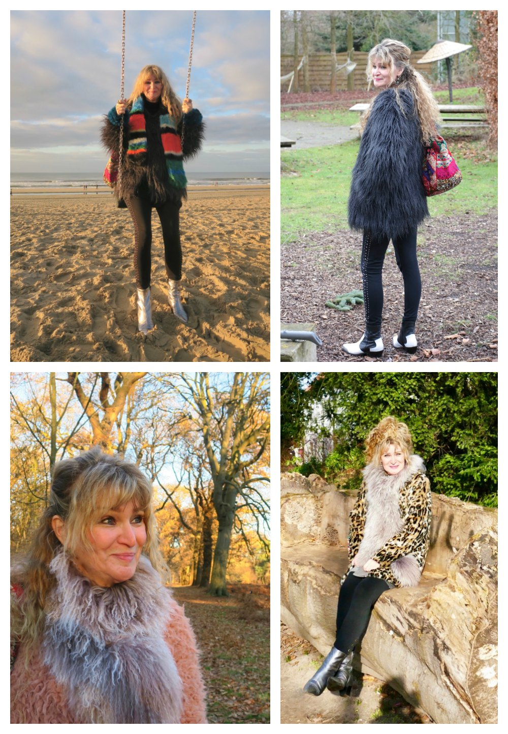 Woman in furry outfits |curlytraveller.com