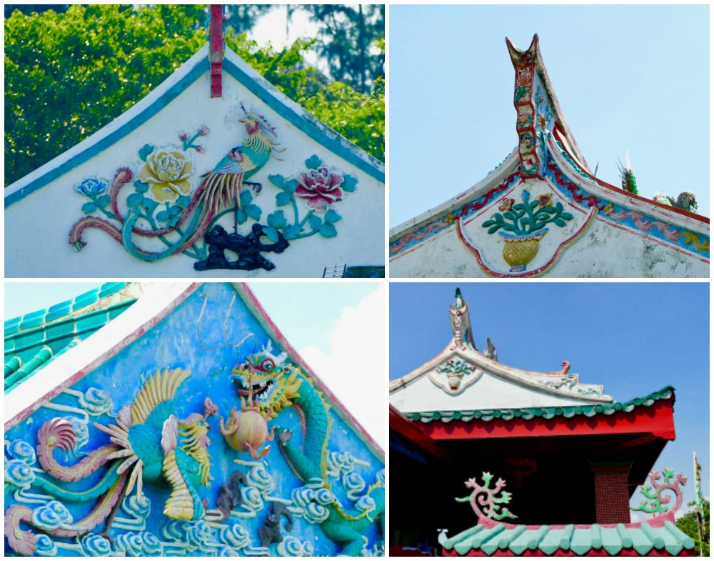 Ornaments on roof Chinese temple|curlytraveller.com