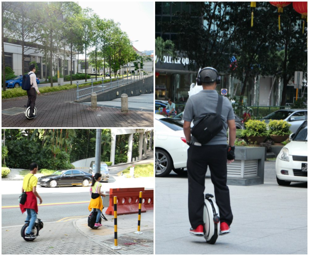 People on unicycles |curlytraveller.com