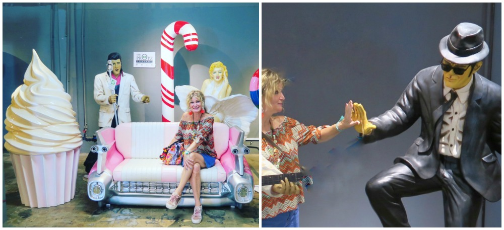 Woman posing with props |curlytraveller.com
