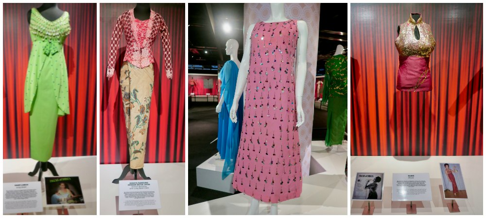 Four looks from Saloma at National Museum Kuala Lumpur  curlytraveller.com