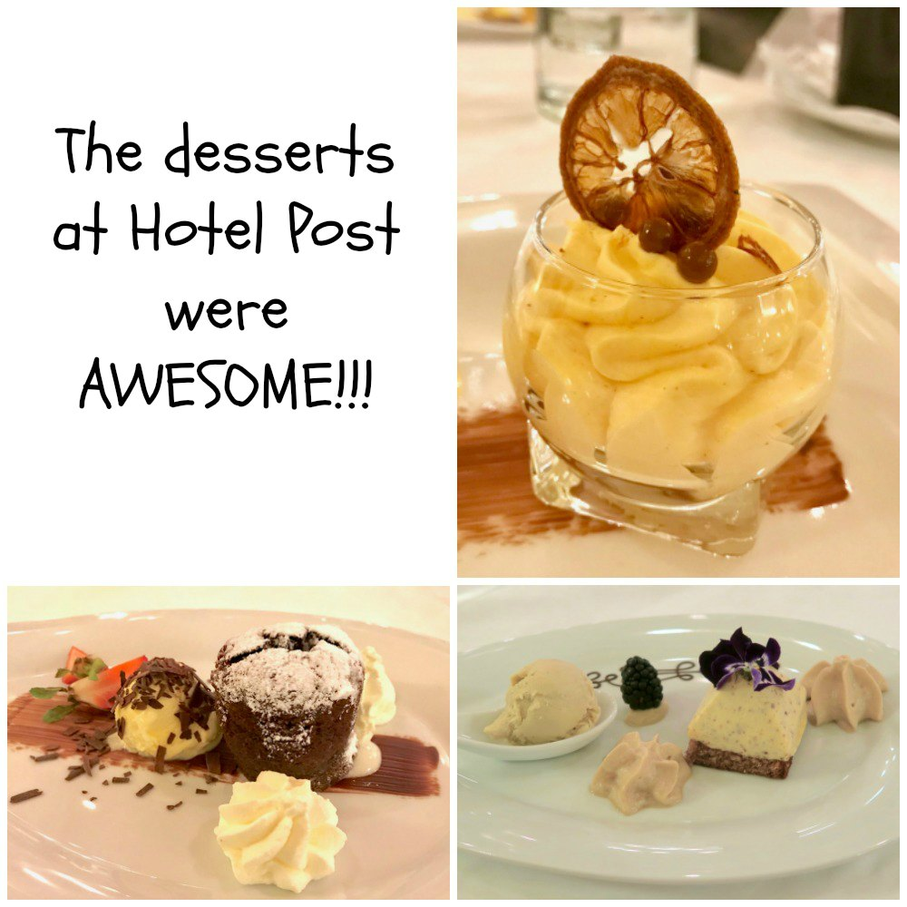 Delicious desserts at Hotel Post St. Anton, Tirol |curlytraveller.com