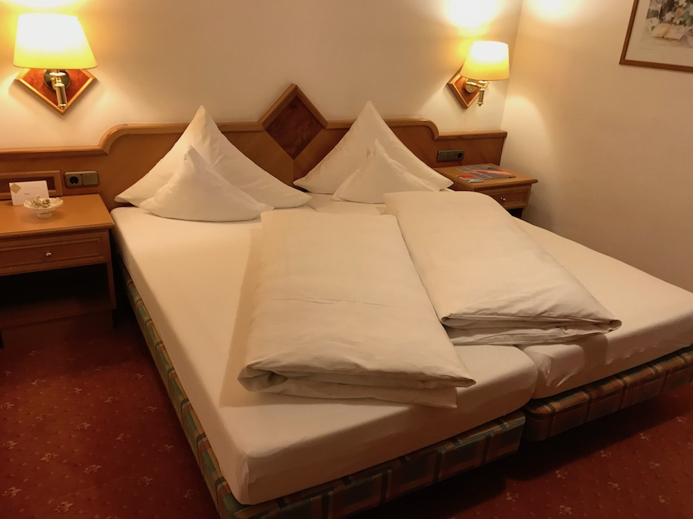 Goose feather duvets at Hotel Post St. Anton |curlytraveller.com