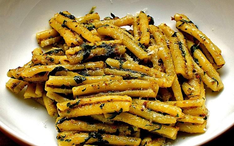 1. pasta pistachio casarecce