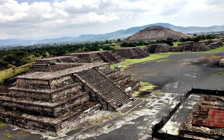 23. Templo de Quetzalcoatl Teotihuacan