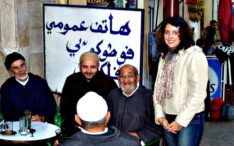 6. marokańscy przewodnicy na kawie