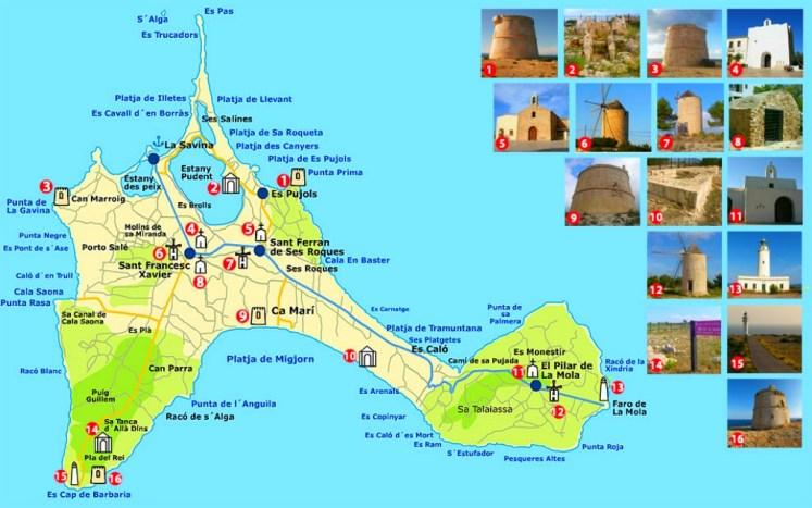 30. mapa formentera