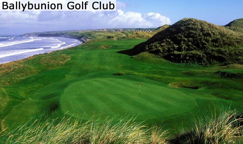 Hyperlink to the Ballybunion Golf Club web page