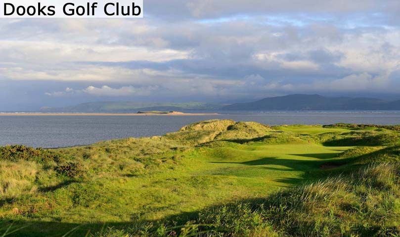 Hyperlink to the Dooks Golf Club web page