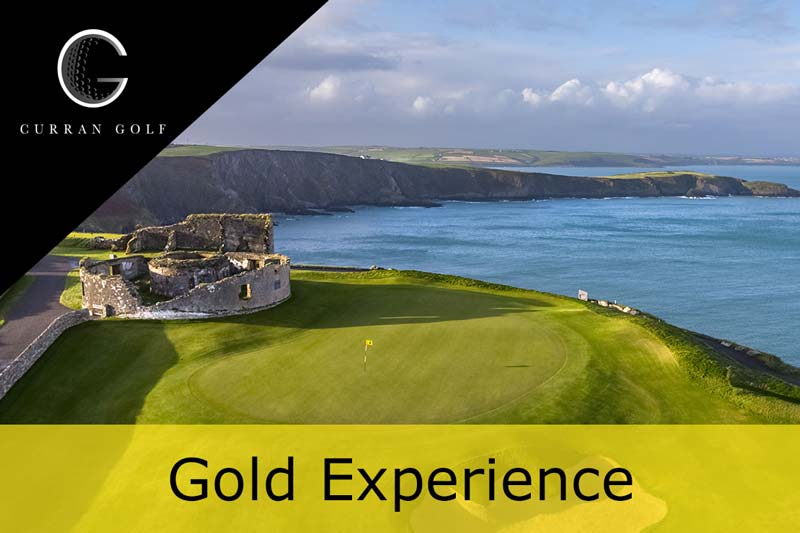 Hyperlink to the South West Ireland Gold Experience web page