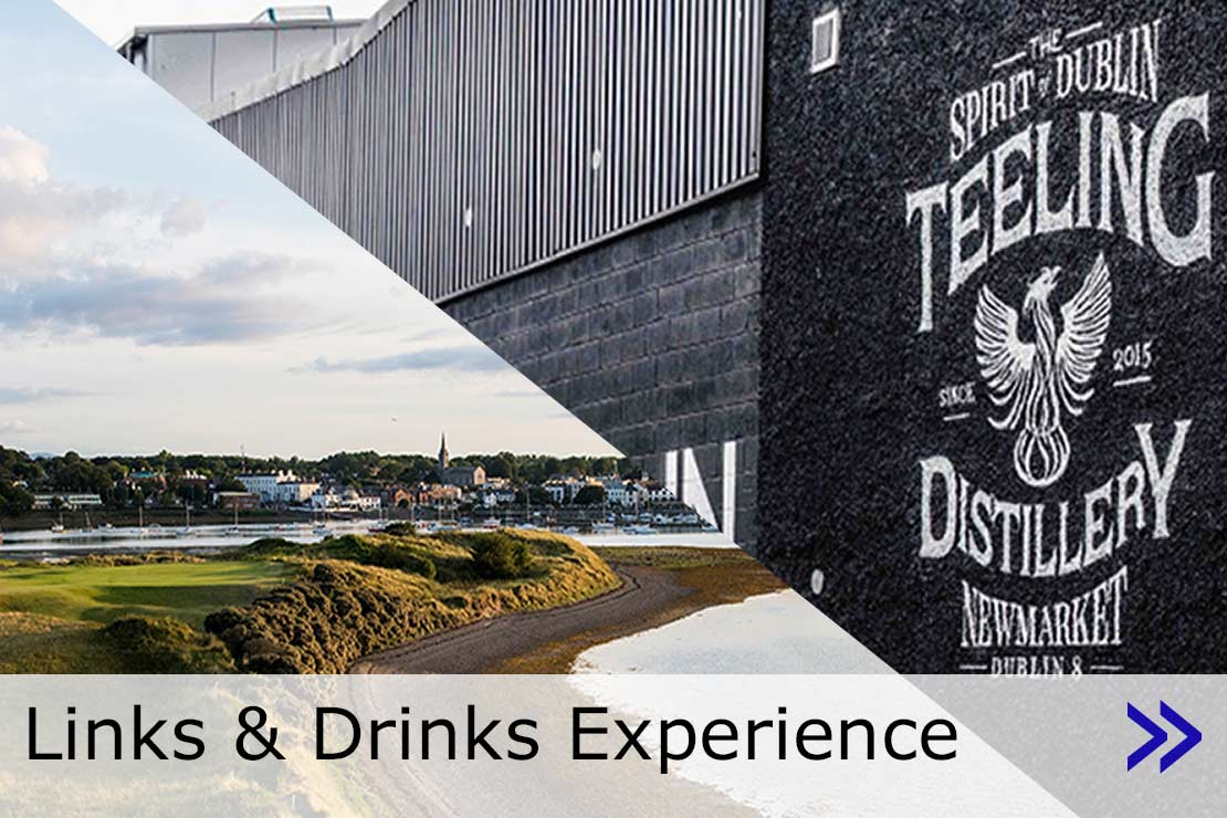 Hyperlink to Links & Drinks Experience web page