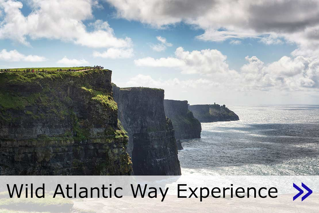 Hyperlink to Wild Atlantic Way Experience web page