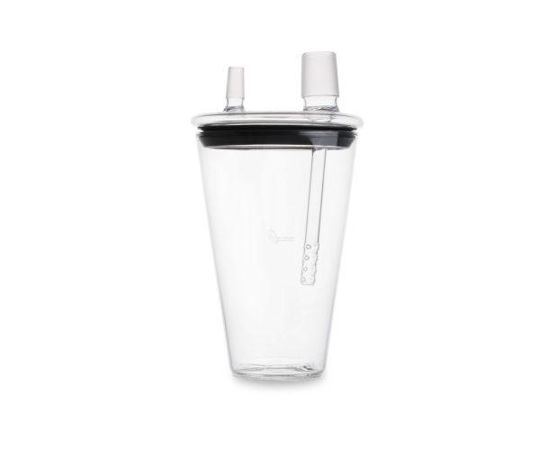 Vaso especial ahumador coctelería sirha medida 12X32cm. Este vaso ahumador https://es.wikipedia.org/wiki/Ahumado está fabricado en borosilicato y la medida es de medio litro. Hay un tamaño más grande de 14 x 40 cm y también fabricado en borosilicato con capacidad de 1 litro. Consiga únicas y sorprendentes sensaciones fumado un delicioso y aromático cóctel, rellene su vaso de hielo, frutas, hierbas aromáticas, verduras, flores, Haga de su terraza o zona de fumadores un lugar único y privilegiado con este tipo de vasos nuevos llegado a España. Se puede también utilizar CO2, aguanta el nitrógeno y se presenta según la idea del barman o inclusive el chef. Puedes utilizar piedras coco que se vende por separado. De efectos de luz poniéndolo en su base que se venden por separado. Personalice sus hielos comprando el marcador de bronce, pregúntanos por él. Plazo de entrega sobre cinco días en península, para otros destinos le informaremos. Puede registrarse para descargar los catálogos .