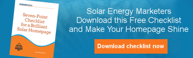 Download Solar Homepage Checklist