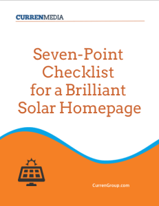 Solar Homepage Checklist Cover