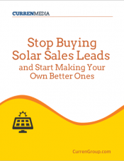 Stop Buying Solar Leads