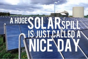 2016: The Year of the Solar Spill