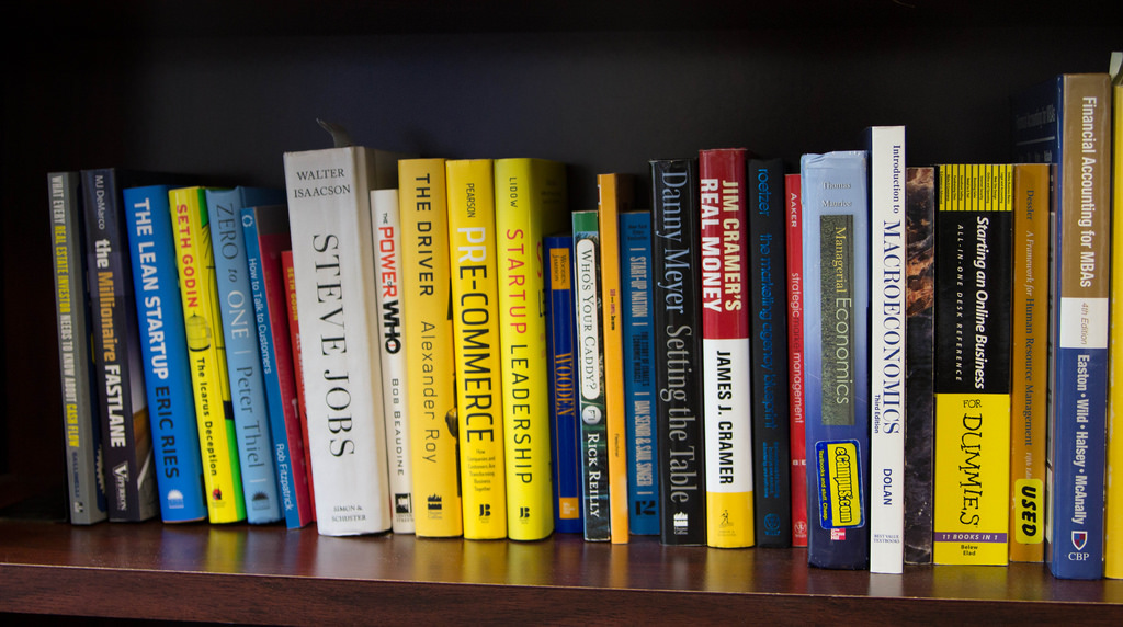 business books photo