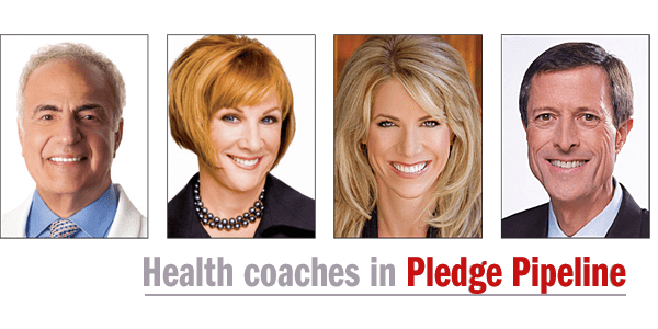 Health coaches in Pledge Pipeline