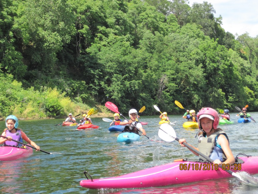 Current Adventures Kids Kayak Camp