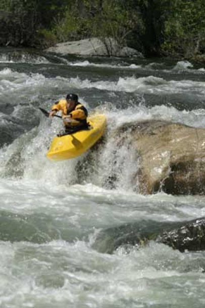 Current Adventures Kayak School whitewater kayak lessons