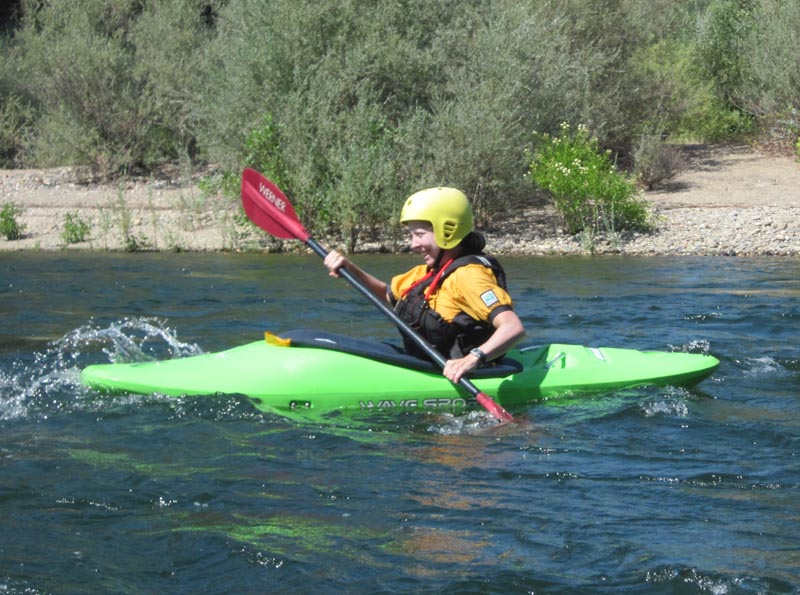 Current Adventures whitewater kayaking instruction