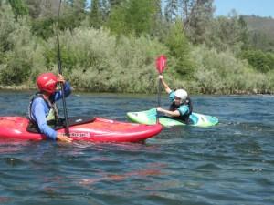 kids kayak lessons - Current Adventures Kayak School