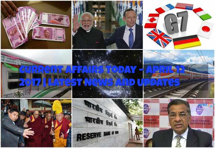 Current Affairs Today – April 12 2017   Latest News and UpdatesCurrent Affairs Today – April 12 2017   Latest News and Updates