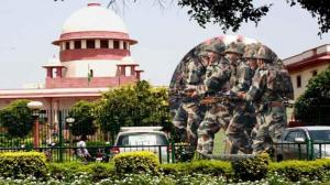 Forces in AFSPA areas must get immunity, government tells Supreme Court