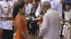 Sakshi Malik, Dipa Karmakar among sports stars conferred with Padma Shri awards