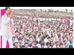 TRS expects huge crowd for public meet in Warangal on April 27