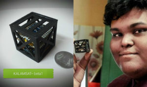 A teenager just built the world's lightest satellite - and NASA's launching it