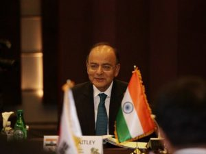 Arun Jaitely's four visits to South Korea
