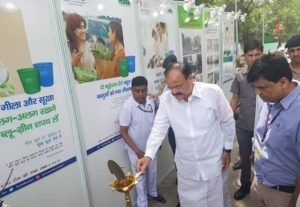 Venkaiah Naidu flag off segregated waste collection vehicles