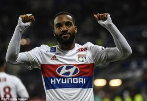 Arsenal break club record to sign France forward Alexandre Lacazette from Lyonc