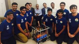 Indians win gold and bronze at first global robotics Olympiad