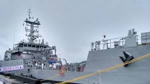 Dr. Jagdish Mukhi commissioned IN LCU L52, Second Ship of Landing Craft Utility into the Indian Navy at Port Blair