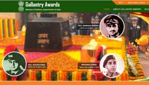 PM launches website to honor gallantry award winners